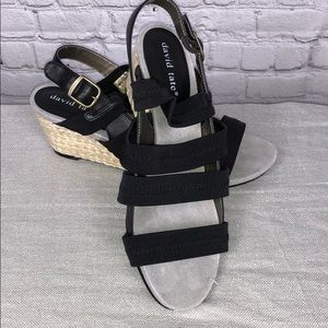 Shoes - David Tate Wedges 8 WW.  Brand New no tags.